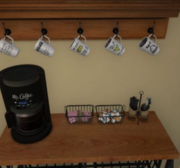 Zoom Alternative Meeting Space Coffee Station